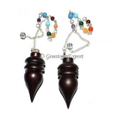 Wooden Chakra Pendulum
