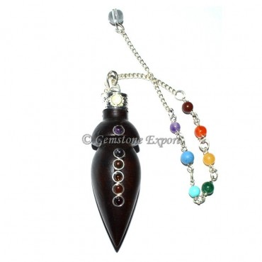 Chakra Wooden Pendulums For Sale