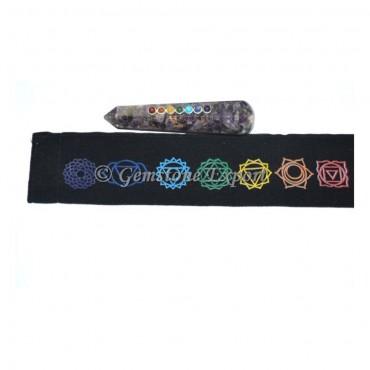 Chakra Wand With Chakra Pouch