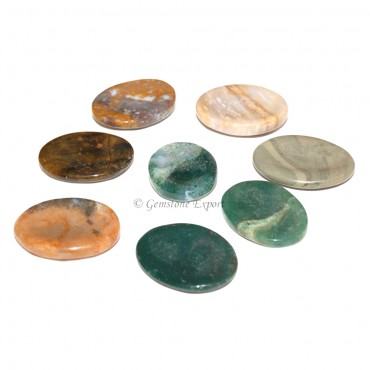 Fancy Jasper Worry Stones