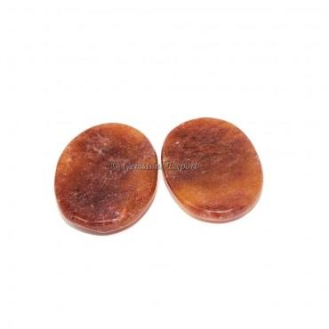 Peach Aventurine Worry Stone