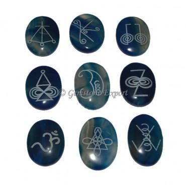 Blue Onyx Karuna Reiki Set