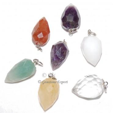 Mix Gemstone Drop Pendants