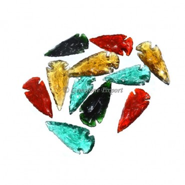Colorfull Obsidian Arrowheads 1 to 1.50 Inches